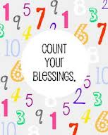 counting your blessings