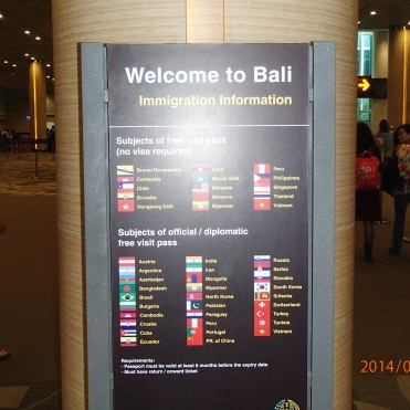 Bali, Indonesia Immigration