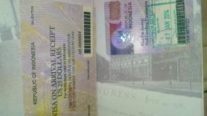 Visa for Indonesia